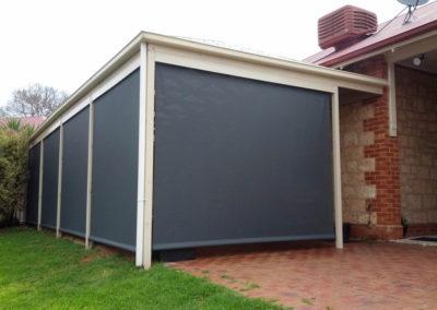 Enclosed carport at Noarlunga Downs