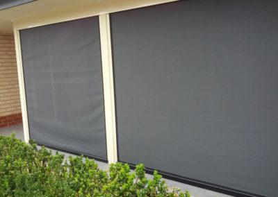Ziptrak blinds at Christie Downs